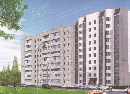 Жилой дом на ул. Лидии Рябцевой 28б