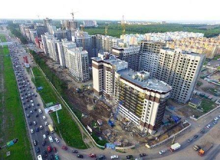 Жилой комплекс «Московский квартал» на ул. Шишкова