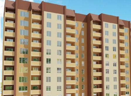 Жилой комплекс «Лазурный» на ул. Артамонова