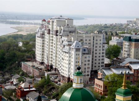 Жилой дом на ул. Карла Маркса, 40А