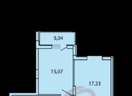 3-комнатная квартира, 84.48-Кв.м.