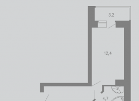 3-комнатная квартира, 81.00-Кв.м.