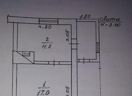 Дом 29.00-Кв.м. на участке 5.40 сот.