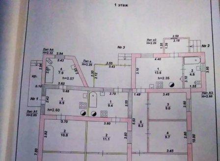 Дом 135.80-Кв.м. на участке 6.28 сот.