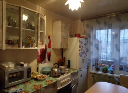3-комнатная квартира, 58.50-Кв.м.