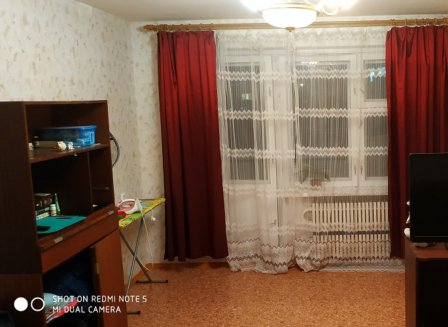 1-комнатная квартира, 38.00-Кв.м.