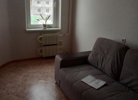 1-комнатная квартира, 38.20-Кв.м.