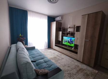 1-комнатная квартира, 33.80-Кв.м.