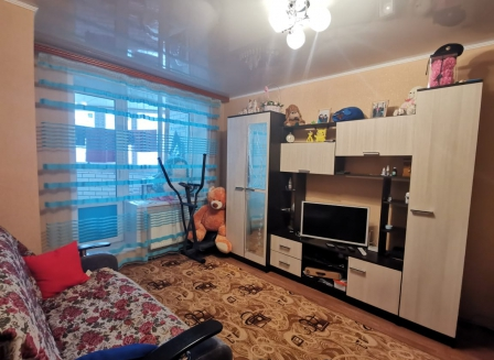 1-комнатная квартира, 35.60-Кв.м.