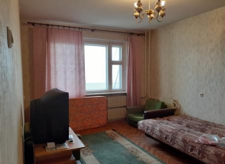 1-комнатная квартира, 37.80-Кв.м.