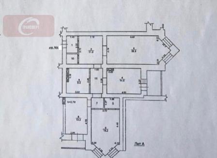 3-комнатная квартира, 112.20-Кв.м.