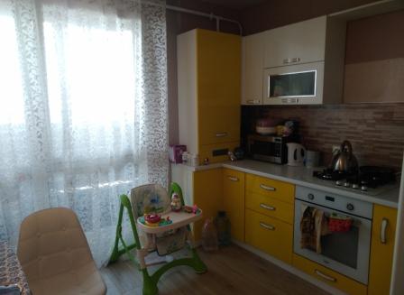 1-комнатная квартира, 43.80-Кв.м.